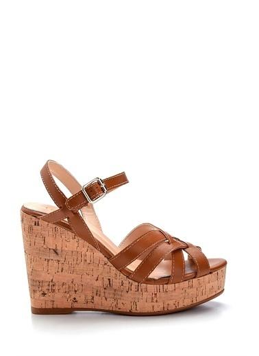 Derimod Kadın Sandalet(01-34) Casual Taba